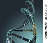 Artificial Dna Molecule  The...