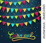 illustration carnival party... | Shutterstock .eps vector #366813365