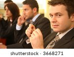 group of business persons in... | Shutterstock . vector #3668271