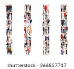team over white office culture  | Shutterstock . vector #366827717