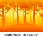 game seamless horizontal forest ... | Shutterstock .eps vector #366831854
