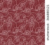 abstract red hand drawn pattern ... | Shutterstock .eps vector #366880121