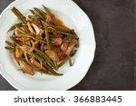 taze fasulye  a traditional... | Shutterstock . vector #366883445
