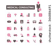 medical consulting  consultant  ... | Shutterstock .eps vector #366886691