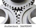 motion gears   team force | Shutterstock . vector #36690049