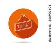 for rent icon. advertising... | Shutterstock .eps vector #366901601