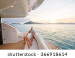 romantic vacation and luxury... | Shutterstock . vector #366918614
