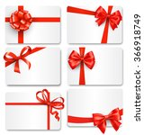 set collection of festive cards ... | Shutterstock .eps vector #366918749