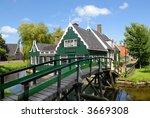 "historic dutch village ""zaanse... | Shutterstock . vector #3669308"
