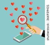 concept of love or relationship....   Shutterstock .eps vector #366939431