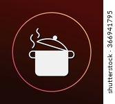 pot icon | Shutterstock .eps vector #366941795