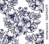 abstract elegance seamless... | Shutterstock . vector #366942479