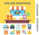 online shopping flat...