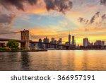 New York City  Usa Skyline Fro...