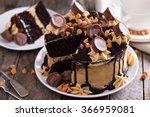 Chocolate Peanut Butter Cake...