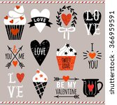Set Of Vector Elements For...