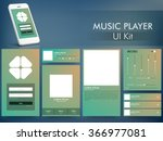 music player ui  ux and gui...