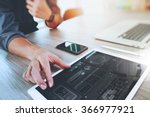 website designer working... | Shutterstock . vector #366977921