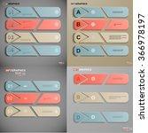 set of infograpfics  vector... | Shutterstock .eps vector #366978197