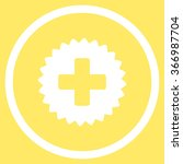 health care stamp vector icon.... | Shutterstock .eps vector #366987704