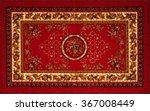 old persian carpet. pattern | Shutterstock . vector #367008449