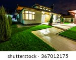 Detached House At Night View...
