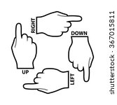 Hand With Pointing Finger....