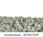 many banknotes of dollars.... | Shutterstock . vector #367027259
