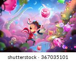 creative illustration and... | Shutterstock . vector #367035101