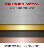brushed metal seamless texture...
