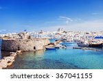 picturesque naousa village ... | Shutterstock . vector #367041155