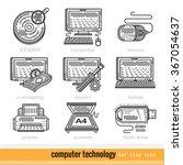 set of computer technology...