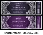 luxury anthracite and plum... | Shutterstock .eps vector #367067381