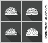 Abstract Icon Geodesic Dome....