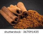 Cinnamon Sticks With Cinnamon...