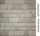 stone block wall | Shutterstock .eps vector #367094489