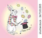 Bunny Magician  Happy Easter...