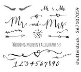 Wedding Modern Calligraphy And...