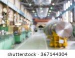 factory floor in bokeh ... | Shutterstock . vector #367144304