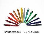 Ballpoint Pens Set Of Differen...