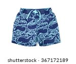 shorts for swimming | Shutterstock . vector #367172189