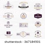 photographer and photo studio... | Shutterstock .eps vector #367184501