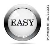 easy icon. internet button on... | Shutterstock .eps vector #367186661
