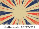 vintage grunge red and blue... | Shutterstock .eps vector #367197911