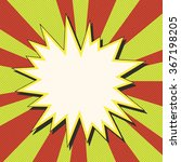 comic book explosion vector... | Shutterstock .eps vector #367198205