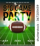 american football party... | Shutterstock .eps vector #367205459