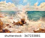 Seascape. Stones On The Sea ...
