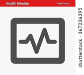 health monitor icon.... | Shutterstock .eps vector #367236395