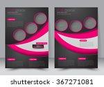 abstract flyer design... | Shutterstock .eps vector #367271081