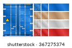 vector of cargo container for... | Shutterstock .eps vector #367275374
